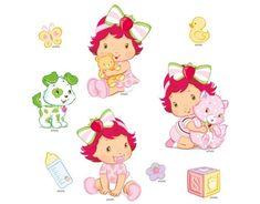 Шарлотта Земляничка (Strawberry Shortcake) в детстве
