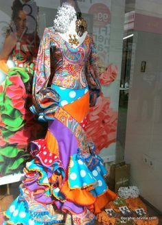 cool retro flamenco dress