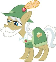Uncle Apple Strudel by Sam-F-Nacman on DeviantArt All My Little Pony, My Little Pony Party, My Little Pony Pictures, My Little Pony Friendship, Mlp Characters, Apple Strudel, My Little Pony Merchandise, Imagenes My Little Pony, Boston Terrier Dog