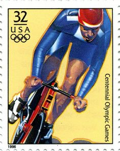 Us History, Black History, Commemorative Stamps, Commuter Bike, Vintage Stamps, Cycling Art, Bike Art, Stamp Collecting, Olympic Games