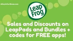 Free codes for Leap Pad apps+ today is last day to get 25% off, codes in blog post