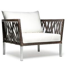 Taragon Accent Chair - modern weave, for outdoor use - Scan Design Furniture | Modern and Contemporary | Florida