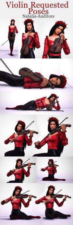 Natalia-Auditore is creating Sims 4 CC