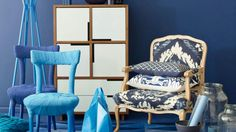 Les bleus, by Dulux Valentine (crème de couleur)