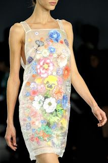 Christopher Kane  Flowers dress