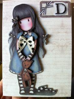Gorjuss card for Deirdre by: Piecesbyaideen