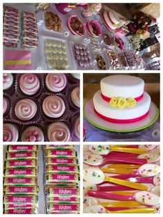 Candy buffet de cumpleaños. #candy buffet, #party, #birthday, #mexican party