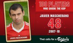 100PWSTK: 48. Javier Mascherano - Liverpool FC