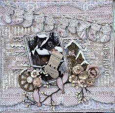 Life's little Embellishments: The Stocking****Maja Design****