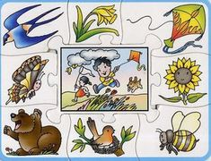 Lotus: sezóny roka Pozrite sa na mňa a naučíte sa Fall Preschool Activities, Seasons Activities, Printable Preschool Worksheets, Gross Motor Activities, Montessori Activities, Alphabet Activities, Teaching Activities, Weather For Kids, Weather Art