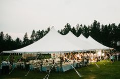 I want a tent wedding @Nicole Eller