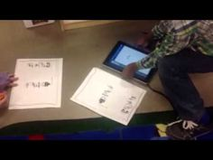 Using QR codes for a sight word scavenger hunt - YouTube