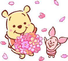 Winnie The Pooh Cartoon, Winnie The Pooh Drawing, Winnie The Pooh Pictures, Cute Winnie The Pooh, Cartoon Clip, Cartoon Gifs, Cute Disney, Baby Disney, Pooh Bear