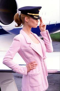 pilot in pink by ellen von unwerth