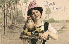 Easter Greetings. Ephemera, Visual Studies Collection, Library of Virginia.