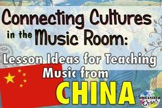 Organized Chaos: Teacher Tuesday: Chinese music in elementary music class. lesson ideas for teaching music from China. instruments, singing, peking opera, etc Elementary Music Lessons, Music Lessons For Kids, Music Lesson Plans, Singing Lessons, Music For Kids, Piano Lessons, Singing Tips, Elementary Schools, Learn Singing