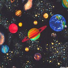 Космические исследования - черный