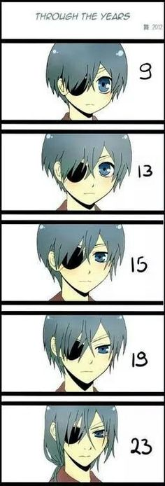 Ciel is growing up
