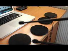 MIDI Arduino Drums - YouTube
