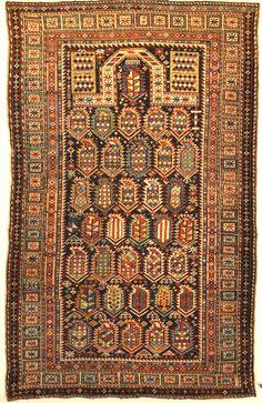 Rarest Antique Maraseli Shirvan Caucasian Prayer Rug « Handmade Old Carpets Persian Carpet, Persian Rug, Asian Rugs, Dark Carpet, Cheap Rugs, Cheap Carpet Runners, Sheepskin Rug, Prayer Rug, Contemporary Rugs