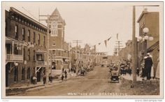 RP: Manitoba Street , BRACEBRIDGE , Ontario , Canada , 00-10s