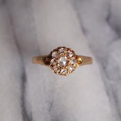 Antique Victorian 'Rose Cluster' 18ct Yellow Gold by WilsherMoon