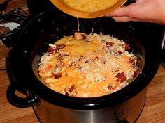 Christmas brunch 2013 :::: Crock Pot Sunrise Breakfast Casserole