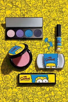MAC Cosmetics x Marge Simpson Collection....OMG I NEED THIS