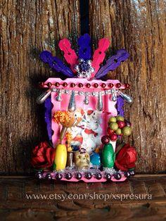 Day-of-the-Dead Nicho / Dia de los Muertos Miniature by XSpresura