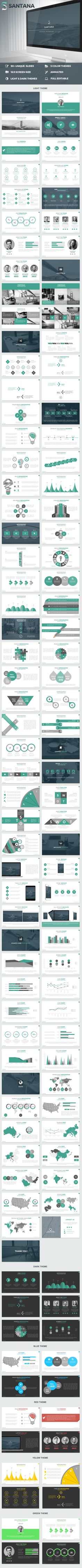 Santana_Powerpoint_Presentation_Template - PowerPoint Templates Presentation Templates