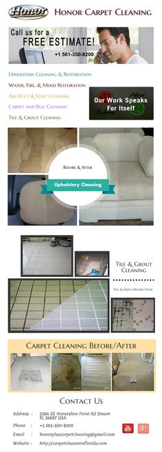 Carpet Cleaning, Tile & Grout Cleaning, and More! Serving Stuart, Port St. Lucie, Jupiter, North Palm Beach, Fort Pierce, and all Surrounding Areas.