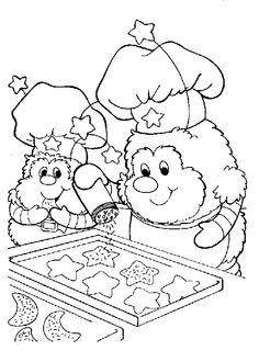free printable rainbow brite coloring pages
