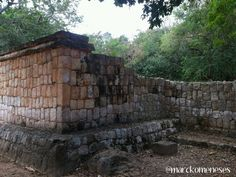 Casa Colorada. Zona Arqueológica Maya de Chichén Itzá (Yucatán, México).