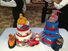 Pastel Paw Patrol Paw Patrol, Cake, Desserts, Food, Pastries, Tailgate Desserts, Deserts, Mudpie, Meals