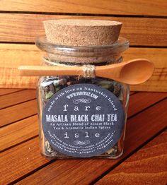 Organic Masala Chai Tea by Fare Isle on Scoutmob Shoppe. Indian spices in an eye-opening black tea.