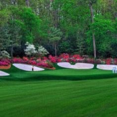 Amen Corner- The Masters- Augusta Ga  #put this on here bc it's a big part of Augusta - but I don't care for golf, but the grounds are really beautiful.