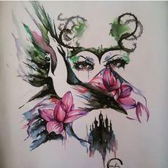 1000 ideas about maleficent tattoo on pinterest sleeping beauty tattoo haunted mansion. Black Bedroom Furniture Sets. Home Design Ideas