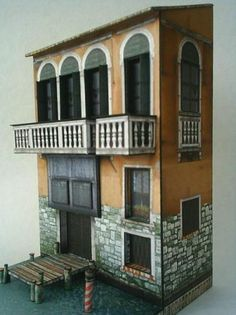 Venice Diorama - by Papermau - Download Now! - - Here is the Venice Diorama, ready to download.