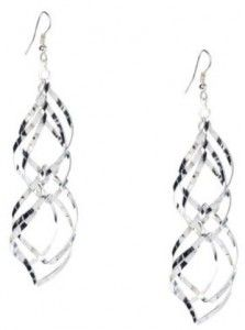 Twisted Dangle Earrings