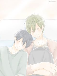 Haru And Makoto, Free Makoto, Anime Boys, Anime Manga, Makoharu, Swim Club, Free Anime, Shounen Ai, Funny Games