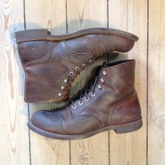 RWIR 8085 Red Wing Iron Ranger, Combat Boots, Shoes, Fashion, Moda, Zapatos, Shoes Outlet, Fashion Styles, Shoe