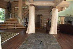 Interiors - Log Homes Canada