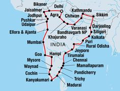 #India & #Nepal overland adventure (82 days) http://bit.ly/1Q2MMuv