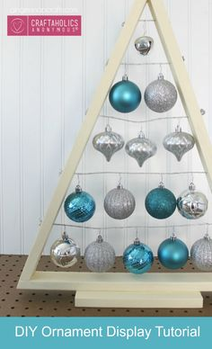 Get ready for the holidays with some Christmas crafts. Hang your favorite art ornaments.