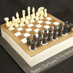 Chess board Cakes | CHESS BOARD CAKE CM0187
