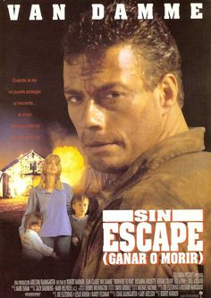 Nowhere to Run , starring Jean-Claude Van Damme, Rosanna Arquette, Kieran Culkin, Ted Levine. Escaped convict Sam Gillen single handedly takes on ruthless developers determined to evict Clydie - a widow with two young children. Sci Fi Movies, Action Movies, Jc Van Damme, Kieran Culkin, Claude Van Damme, 80s Movie Posters, Capas Dvd, Ted, English Movies