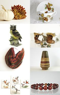 Autumn Inspiration! by Kristin Morrison on Etsy--Pinned with TreasuryPin.com