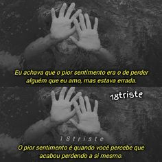 A imagem pode conter: uma ou mais pessoas e texto Words Quotes, Me Quotes, Sayings, Ill Be Ok, Sad Alone, You Are The Sun, I Am Sad, Motivational Phrases, Sad Girl