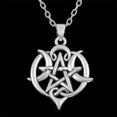 Moon Goddess Pentacle Necklace – Enchantory