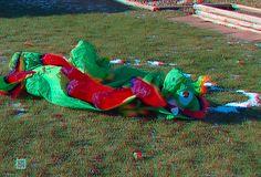 Deflated Christmas Stegosaurus